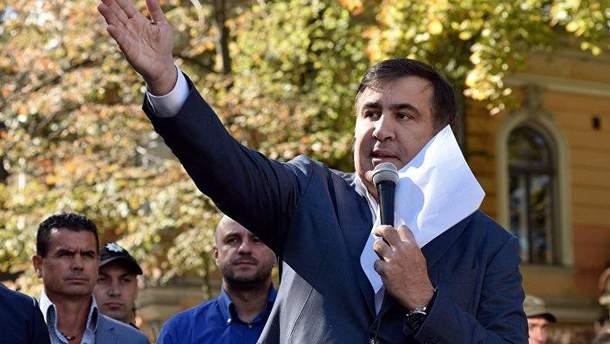 Саакашвили требует отменить депутатскую неприкосновенность