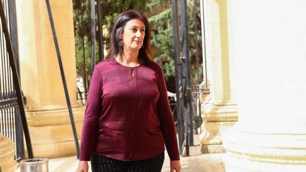 Дафна Каруана Галиция погибла от взрыва авто