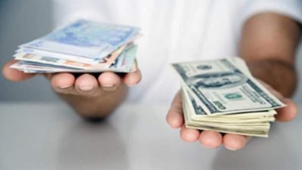 Готівковий курс валют 17 жовтня в Україні