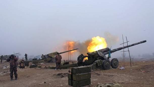 Боевики продолжают обстрелы украинских позиций