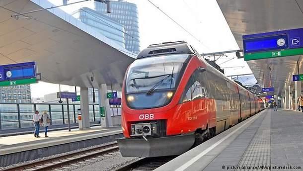 Австрійська залізниця