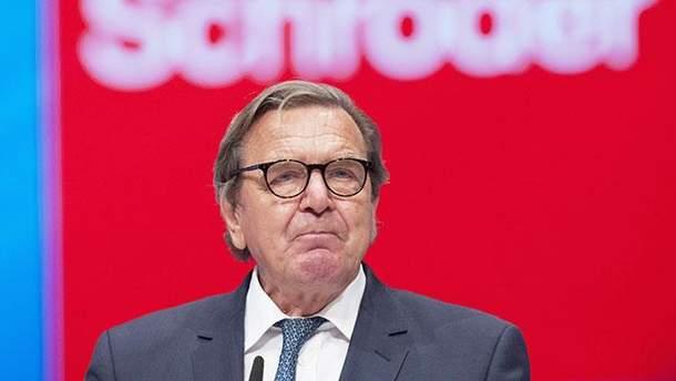 Шредер требует улучшения отношений ЕС с Россией и Турцией