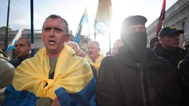Мітинг у Києві 17 жовтня