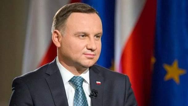 Дуда приедет в Украину с официальным визитом