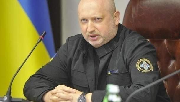 Александр Турчинов не поехал в Брюссель
