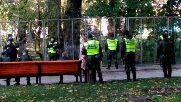 Силовики штурмували наметове містечко у Києві