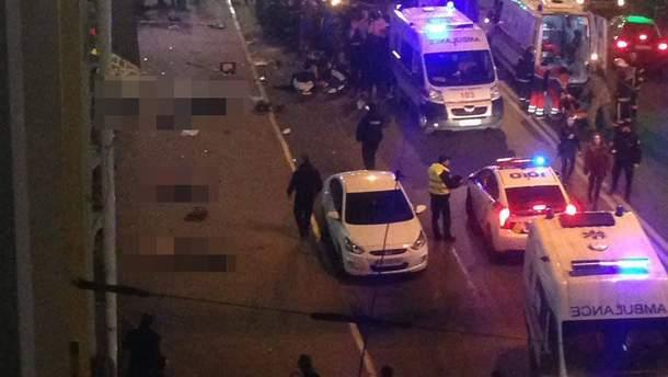 ДТП в Харькове: число жертв в результате наезда Lexus возросло до 6 человек