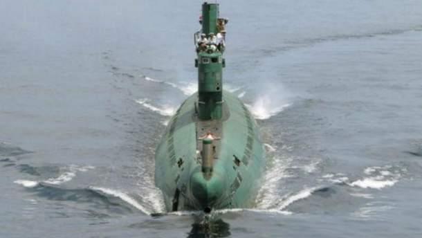 Новий підводний човен КНДР
