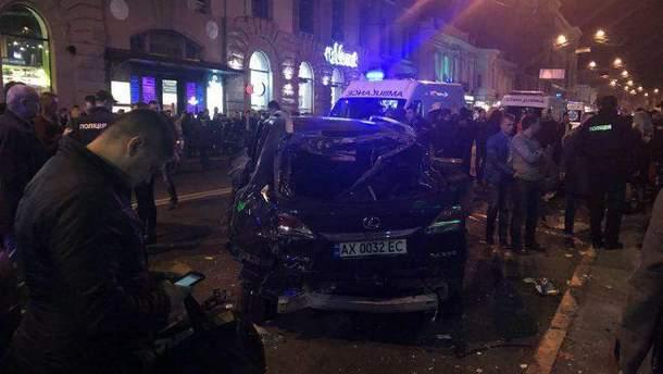Внаслідок ДТП в Харкові загинуло 6 людей