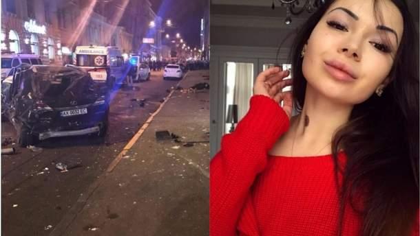 Авария на Сумской в Харькове