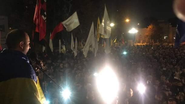Движение Саакашвили озвучило решение о протестах под ВР