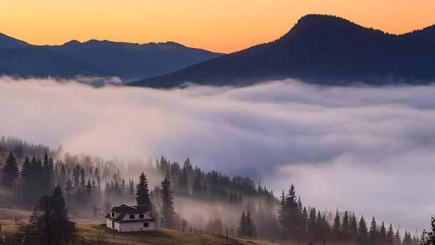 Україну накрив густий туман
