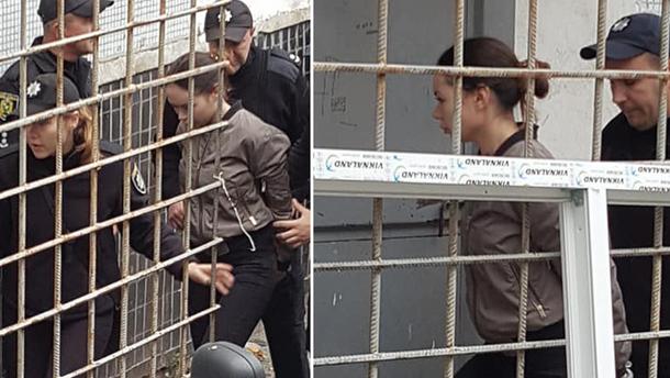 Зайцеву, яка на Lexus розчавила людей у Харкові, привезли до суду