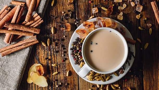 Як приготувати чай масала