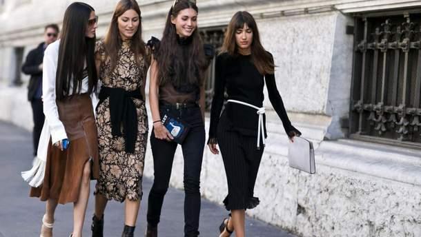 10 трендовых платьев осени 2017: модные образы знаменитостей