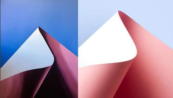 Похожие работы? Слева картина Анны Роенко, справа фото Акселя Освита