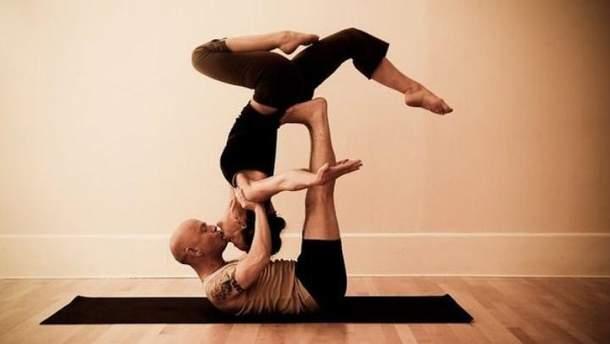 Сексуальная йога позы