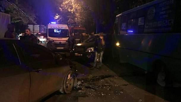 Потрійна п'яна ДТП сталася у Харкові