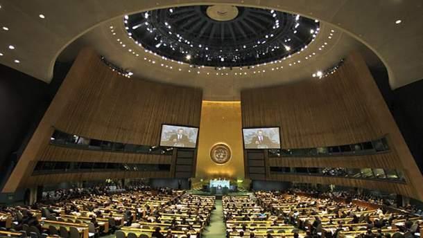 Україна звернулась до ООН з проханням реагувати на пропаганду Кремля