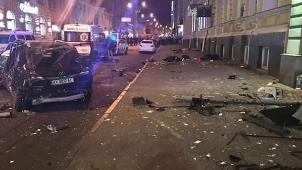Последствия жуткого ДТП в Харькове