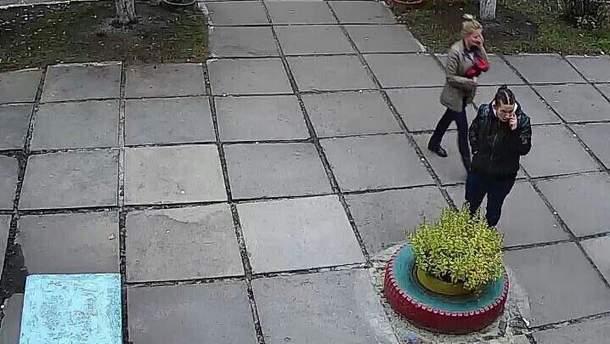 Женщина, которая могла совершить похищение ребенка из детского садика в Киеве