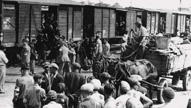 Депортация украинцев в Сибирь