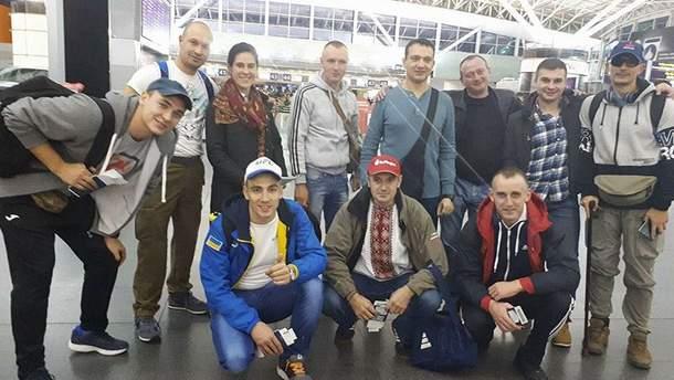Українська команда в марафоні
