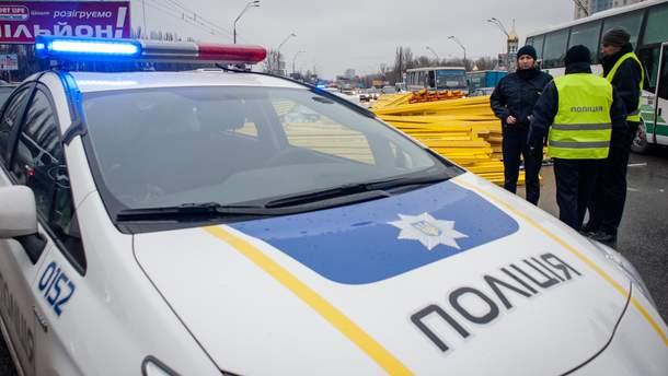 Скандал с патрульными в Ивано-Франковске