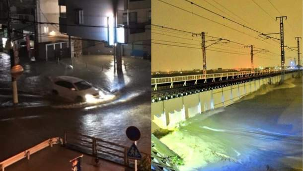 """Тайфун """"Лан"""" в Японии: фото"""