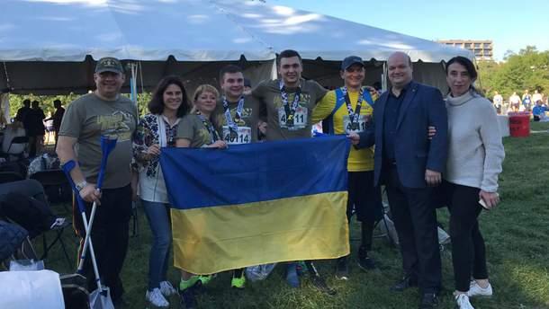 Українські ветерани на Марафоні Морської піхоти США