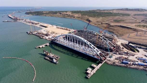 Керченский мост рухнет этой зимой