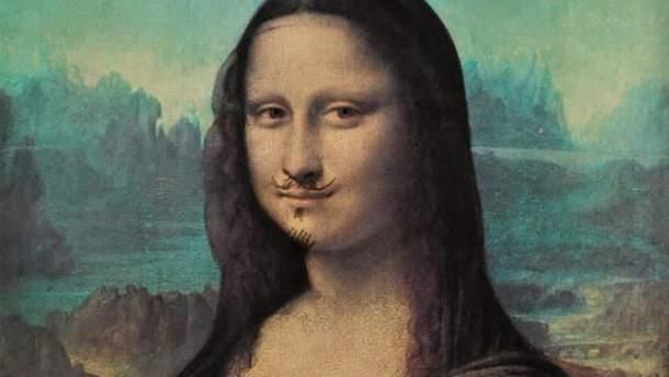 """Репродукція """"Мони Лізи"""" Леонардо да Вінчі"""