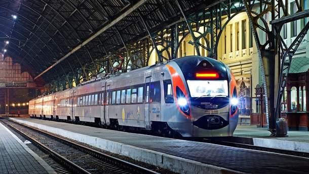 С 3 ноября будет курсировать новый скоростной поезд Киев – Тернополь