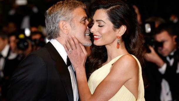 Джордж Клуни и жена Амаль