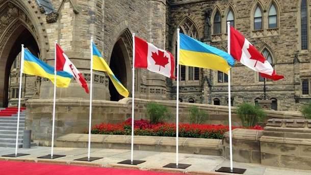 Безвизовый режим между Украиной и Канадой