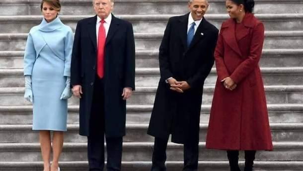 """Меланія Трамп """"втерла носа"""" своїй попередниці Мішель Обамі"""