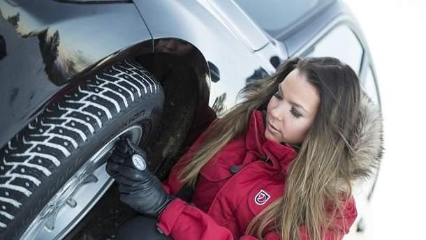 Пришло время сменить шины на зимние