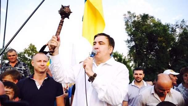 Саакашвілі різко прокоментував заяву Луценка про екстрадицію до Грузії.