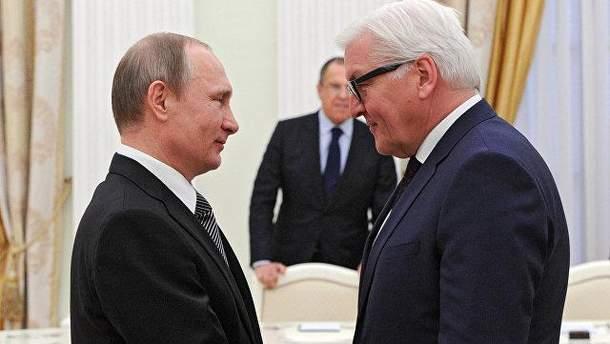 Встреча Штайнмайера и Путина: какие перспективы?