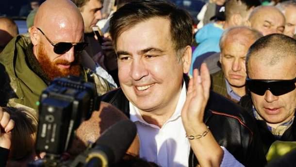 """""""Прорыв"""" Саакашвили через украинско-польскую границу произошел 10 сентября 2017 года"""