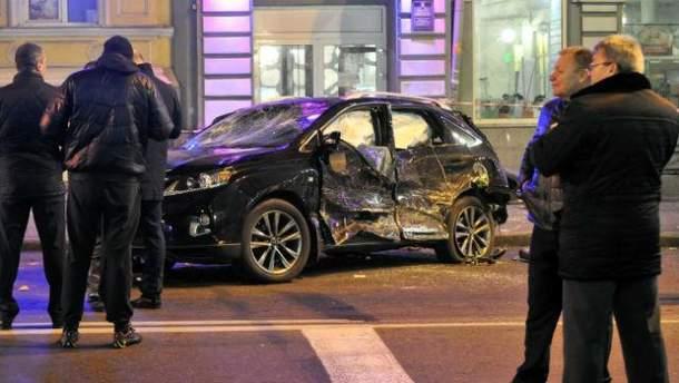 Аварія у Харкові на Сумській