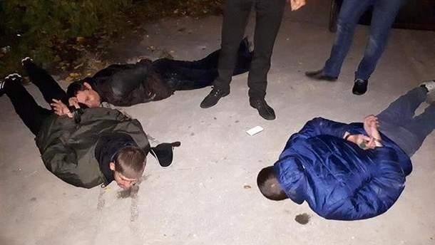 В Запорожье полиция задержала похитителей человека