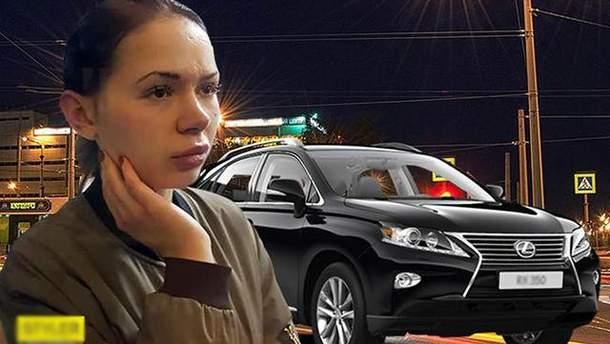 Алена Зайцева перед ДТП в Харькове отдыхала в ресторане