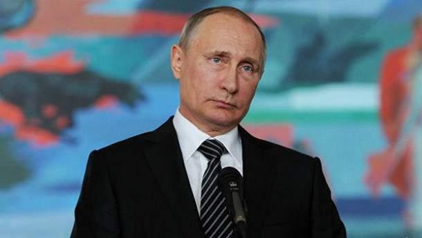 Що думає Путін про заяву Собчак
