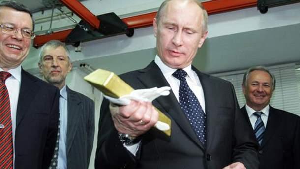 Друзья Путина владеют состоянием в 24 миллиарда долларов