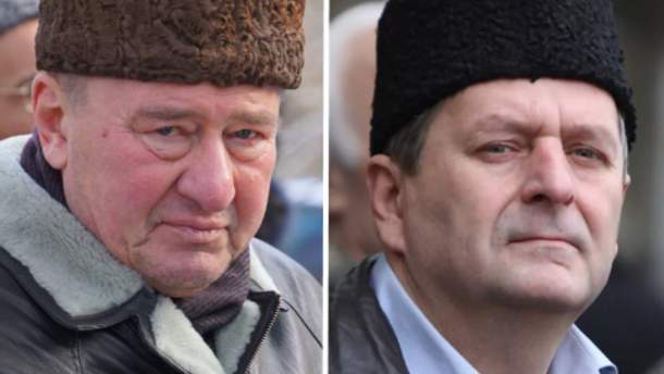 Ахтем Чийгоз и Ильми Умеров