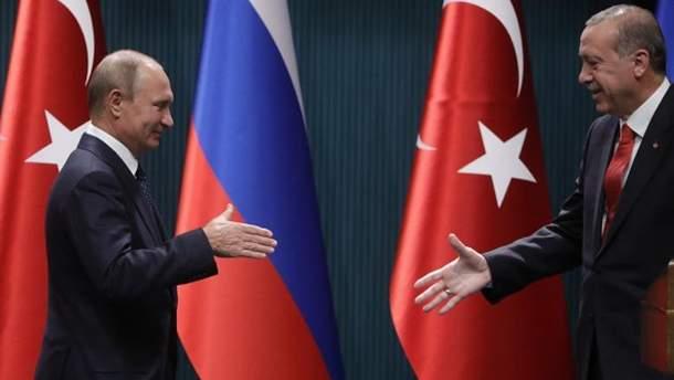 Эрдоган лично вел переговоры с Путиным об освобождении Умерова и Чийгоза