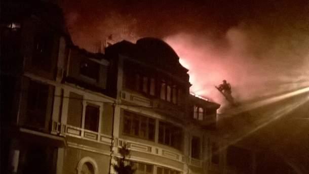 Пожар в общежитии для переселенцев