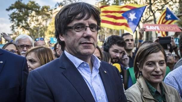 Лідер Каталонії Карлес Пучдемон