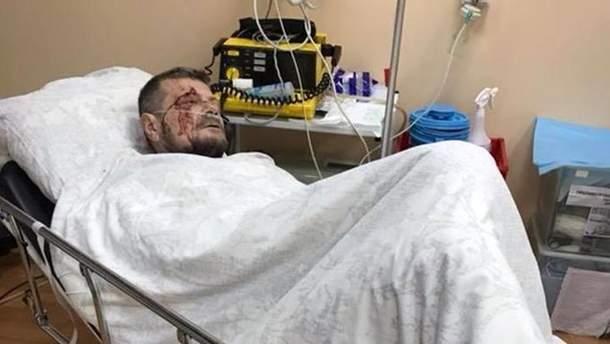 Раненый Игорь Мосийчук